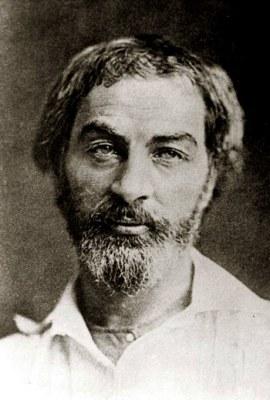 Walt Whitman in 1854
